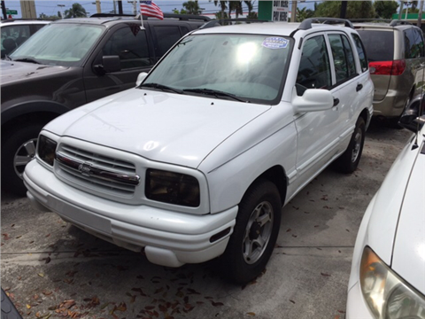 2001 Chevrolet Tracker for sale in West Palm Beach, FL