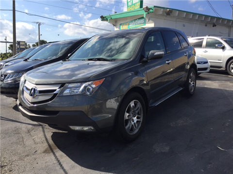2008 Acura MDX for sale in West Palm Beach, FL