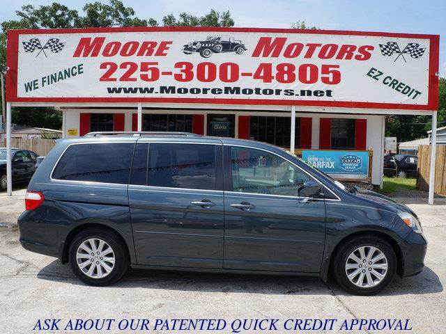 2006 HONDA ODYSSEY TOURING 4DR MINIVAN gray at moore motors everybody rides good credit bad cre