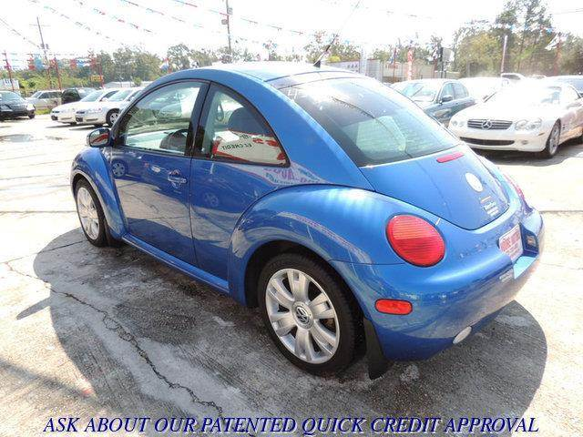 2003 VOLKSWAGEN NEW BEETLE GLS 18T 2DR HATCHBACK blue at moore motors everybody rides good cred