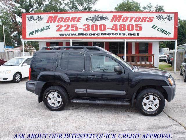 2006 NISSAN XTERRA black at moore motors everybody rides good credit bad credit no problem w