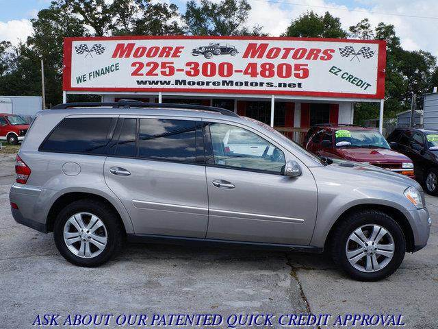 2007 MERCEDES-BENZ GL-CLASS GL450 AWD 4MATIC 4DR SUV silver at moore motors everybody rides good