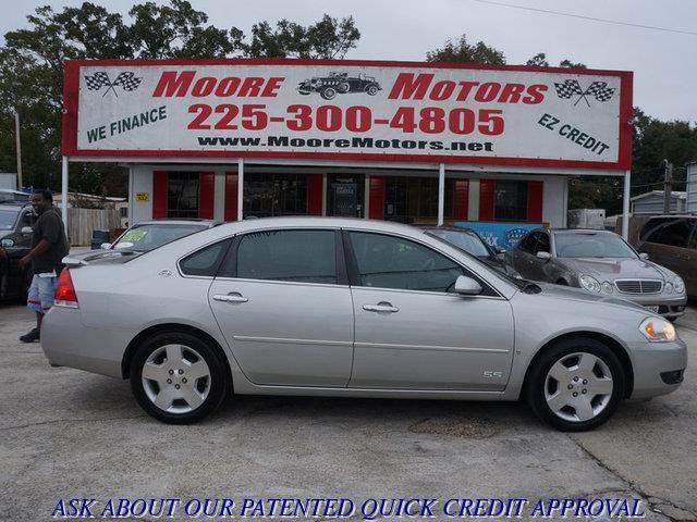 2008 CHEVROLET IMPALA SS SEDAN silver at moore motors everybody rides good credit bad credit n