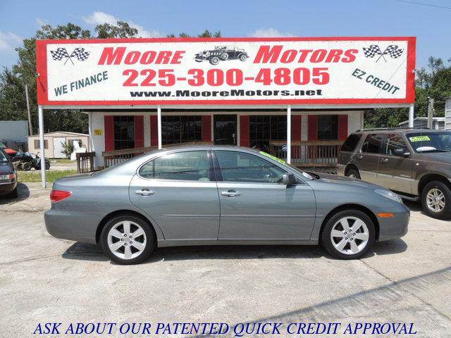 2006 LEXUS ES 330 BASE 4DR SEDAN gray at moore motors everybody rides good credit bad credit