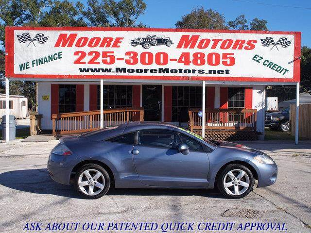 2007 MITSUBISHI ECLIPSE GS 2DR HATCHBACK 24L I4 4A blue at moore motors everybody rides good