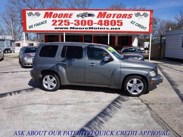 2006 CHEVROLET HHR LT 4DR WAGON gray at moore motors everybody rides good credit bad credit n
