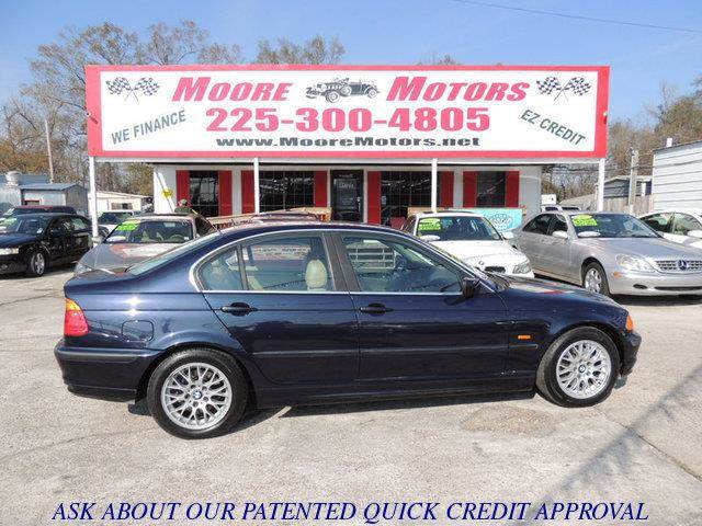 1999 BMW 3 SERIES 328I 4DR SEDAN blue at moore motors everybody rides good credit bad credit n