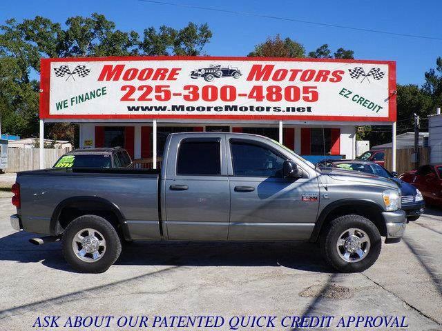 2008 DODGE RAM PICKUP 2500 BIG HORN 2500 grey at moore motors everybody rides good credit bad