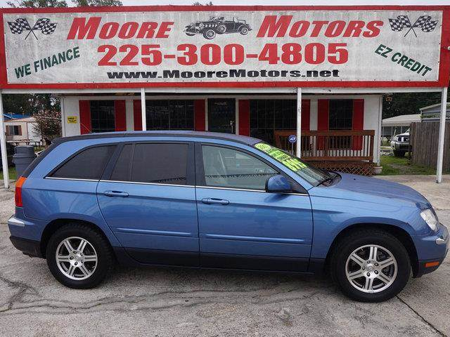 2007 CHRYSLER PACIFICA TOURING 4DR WAGON blue at moore motors everybody rides good credit bad c