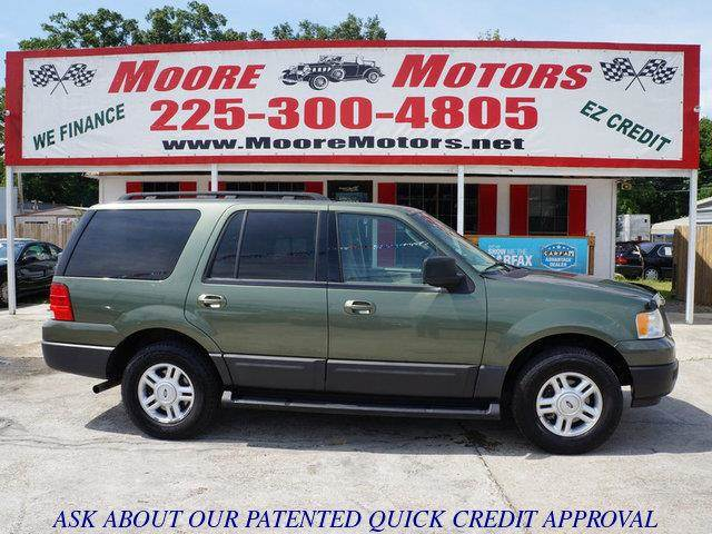 2005 FORD EXPEDITION XLT 4DR SUV green at moore motors everybody rides good credit bad credit