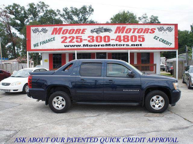 2007 CHEVROLET AVALANCHE LT1 2WD blue at moore motors everybody rides good credit bad credit
