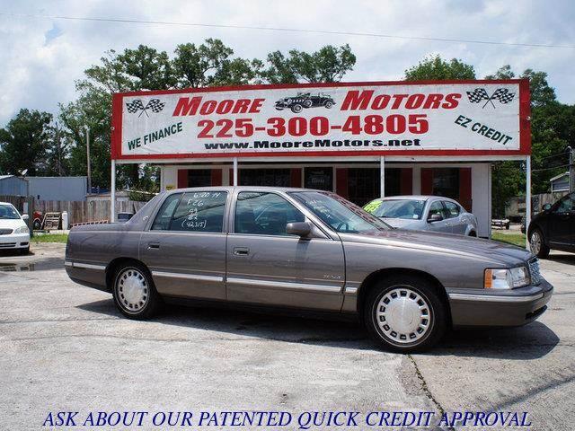 1999 CADILLAC DEVILLE BASE 4DR STD SEDAN gray at moore motors everybody rides good credit bad c