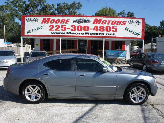 2006 DODGE CHARGER RT 4DR SEDAN grey at moore motors everybody rides good credit bad credit no