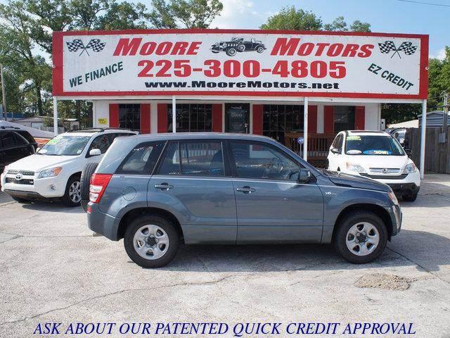 2006 SUZUKI GRAND VITARA BASE 4DR SUV 27L V6 5A gray at moore motors everybody rides good cr