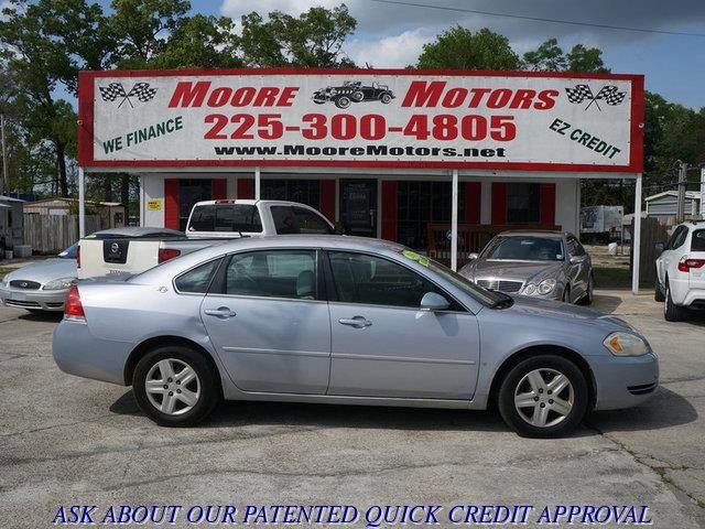 2006 CHEVROLET IMPALA LT 4DR SEDAN silver at moore motors everybody rides good credit bad credi