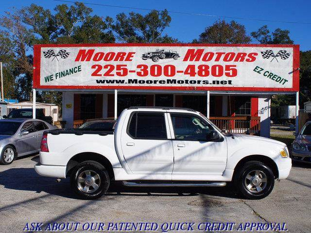 2005 FORD EXPLORER SPORT TRAC SPORT TRAC ADRENALIN 2WD white at moore motors everybody rides go