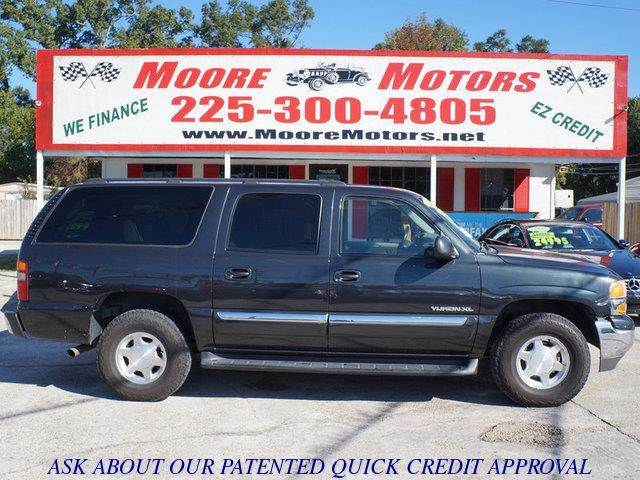 2003 GMC YUKON XL 1500 2WD gray at moore motors everybody rides good credit bad credit no pro