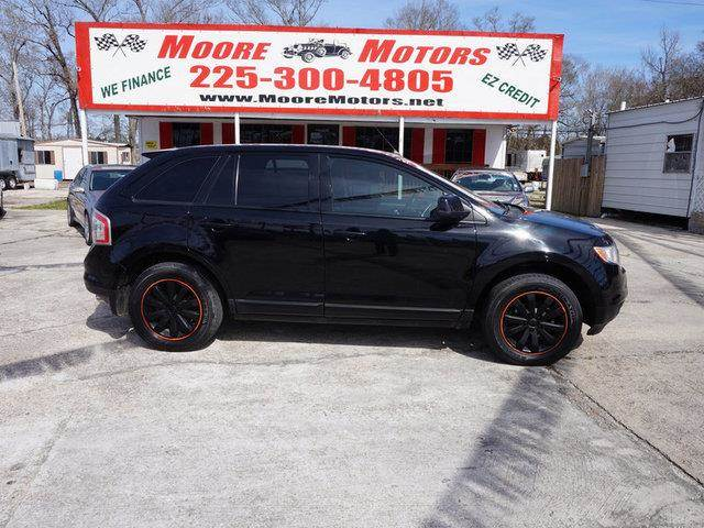 2007 FORD EDGE SEL PLUS 4DR SUV black at moore motors everybody rides good credit bad credit