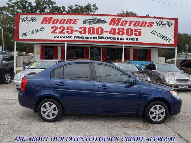 2008 HYUNDAI ACCENT GLS blue at moore motors everybody rides good credit bad credit no proble
