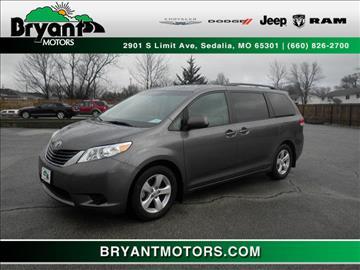 2014 Toyota Sienna for sale in Sedalia, MO