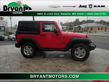 2016 Jeep Wrangler for sale in Sedalia, MO