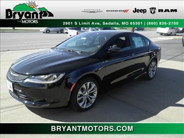 2015 Chrysler 200 for sale in Sedalia, MO