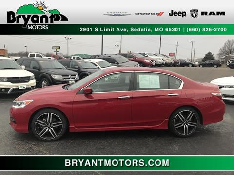 2017 Honda Accord for sale in Sedalia, MO