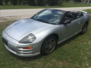 2001 Mitsubishi Eclipse Spyder for sale in Leesburg, FL