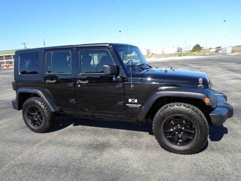 2007 Jeep Wrangler Unlimited for sale in Lawrenceburg, TN