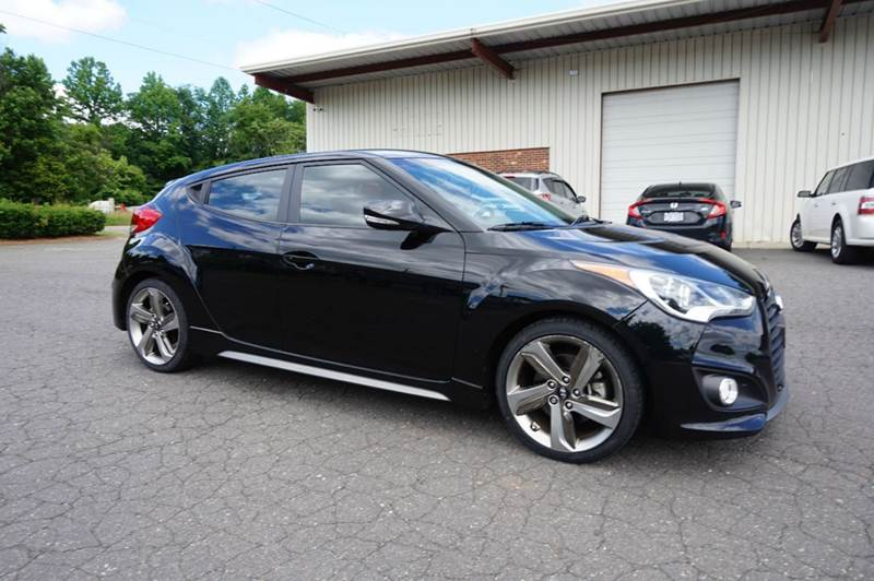 2016 hyundai veloster 3dr coupe dct w black seats in greensboro nc kevin powell motorsports. Black Bedroom Furniture Sets. Home Design Ideas