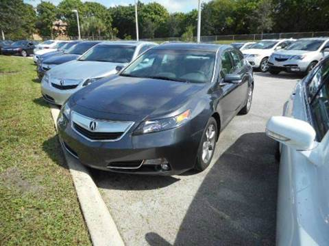 2012 Acura TL for sale in Hollywood, FL
