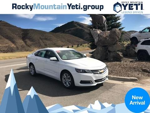 2016 Chevrolet Impala for sale in Afton, WY