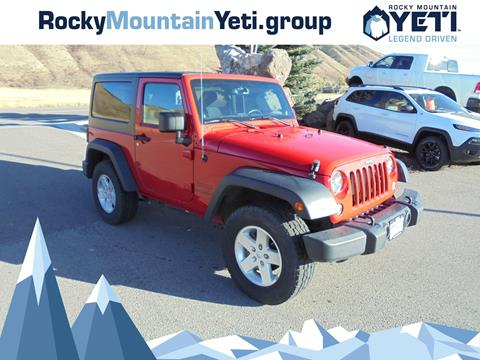 2014 Jeep Wrangler for sale in Afton, WY