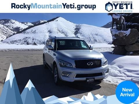 2015 Infiniti QX80 for sale in Afton, WY