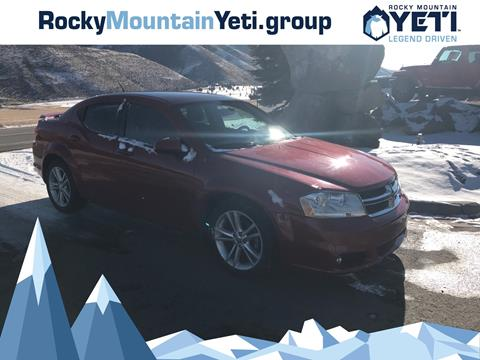 2012 Dodge Avenger for sale in Afton, WY