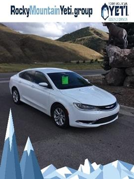 2015 Chrysler 200 for sale in Afton, WY