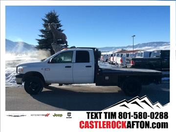 2008 Dodge Ram Chassis 3500 for sale in Afton, WY