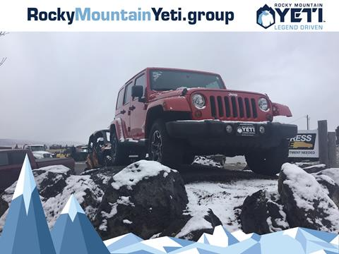 2011 Jeep Wrangler Unlimited for sale in Afton, WY