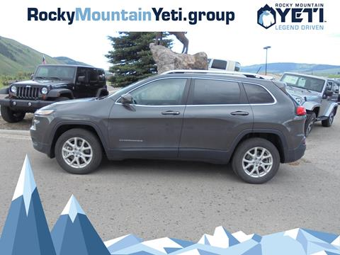2015 Jeep Cherokee for sale in Afton, WY