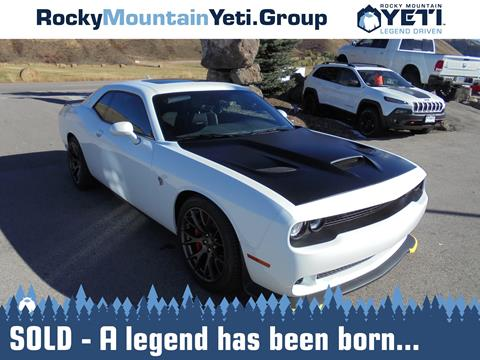 2016 Dodge Challenger for sale in Afton, WY