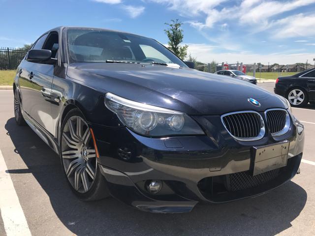 2008 BMW 5 Series 550i 4dr Sedan Luxury - San Antonio TX