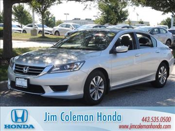 2014 Honda Accord for sale in Clarksville, MD