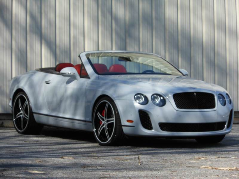 2011 Bentley Continental Supersports Base Awd 2dr Convertible In