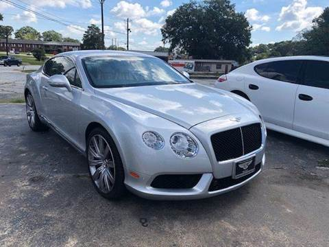 2014 Bentley Continental Gt Speed For Sale Carsforsale