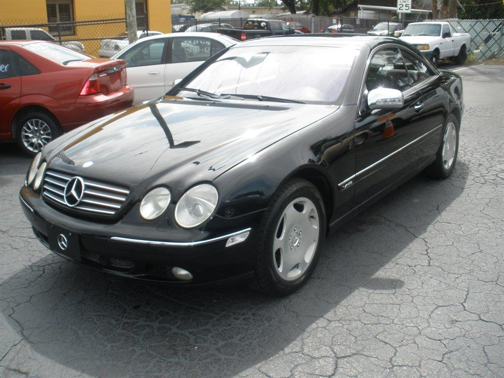 2001 mercedes benz cl class for sale in tampa fl for Mercedes benz cl600 for sale