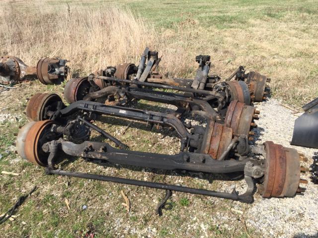 Meritor Front Axles : Meritor front steer axles in gilman il al witvoet and