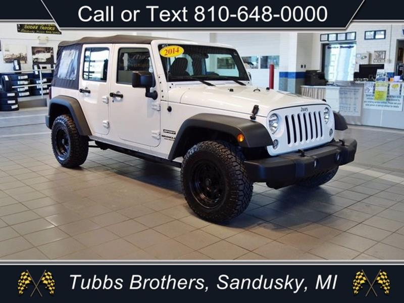 2014 jeep wrangler unlimited for sale in michigan. Black Bedroom Furniture Sets. Home Design Ideas