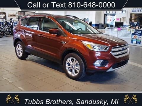 2018 Ford Escape for sale in Sandusky, MI