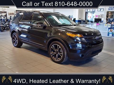 2015 Ford Explorer for sale in Sandusky, MI