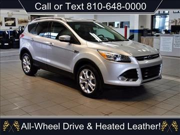2015 ford escape for sale michigan. Black Bedroom Furniture Sets. Home Design Ideas